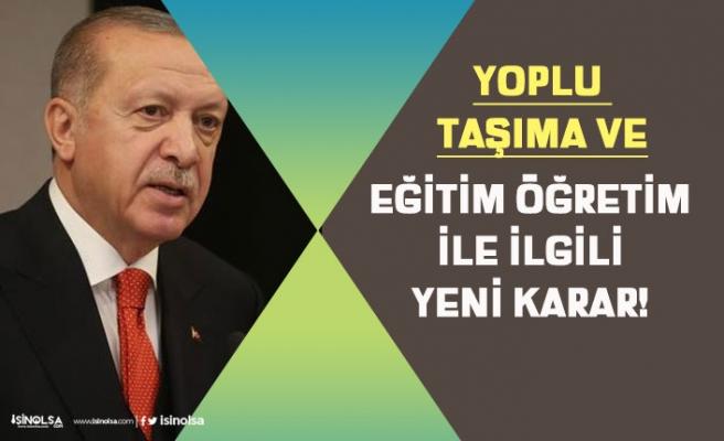 Cumhurbaşkanı Erdoğan Açıkladı! Okul Öncesi, İlkokul 1. Sınıflar Aile Tercihi İle Başlayacak!