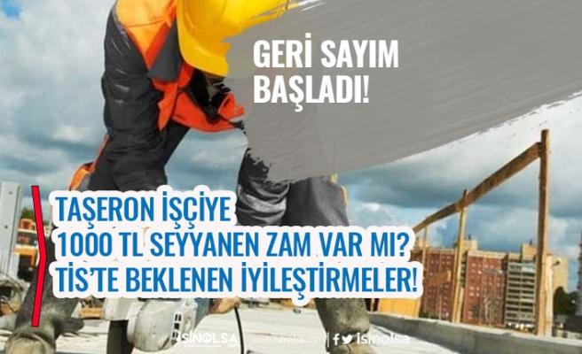 Kamu 4D Taşeron İşçi TİS'te Geri Sayım Başladı! 1000 TL Seyyanen Maaş Zam Var mı?