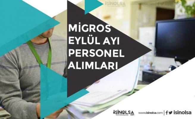 Migros Eylül Personel Alımı İlanları Açıkladı! Lise Mezunu Adaylara Yönelik!