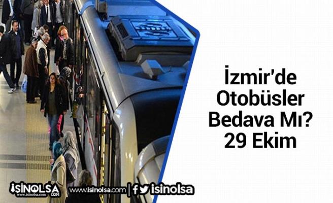 İzmir'de Otobüsler Özel Fiyat Tarifler Üzerinden Çalışacak
