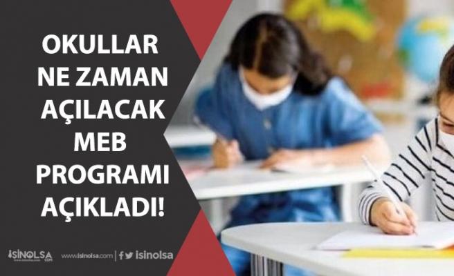 Okullar Ne Zaman Açılacak? Ara Sınıfların Yüz Yüze Eğitimi Takvimi! 6,7, 10, 11 Sınıflar!