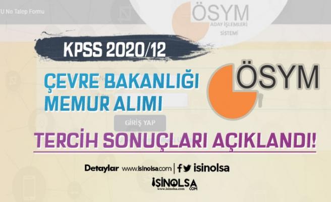 ÖSYM KPSS 2020/12 ÇŞB 50 Memur Alımı Sonuçları Açıklandı! Taban ve Tavan Puanlar?
