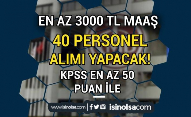 Bankaya KPSS 50 Puan İle 40 Personel Alınacak! En az 3000 TL Maaş