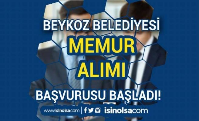 Beykoz Belediyesi Memur Alımı Yapacak! Başvurular Başladı.