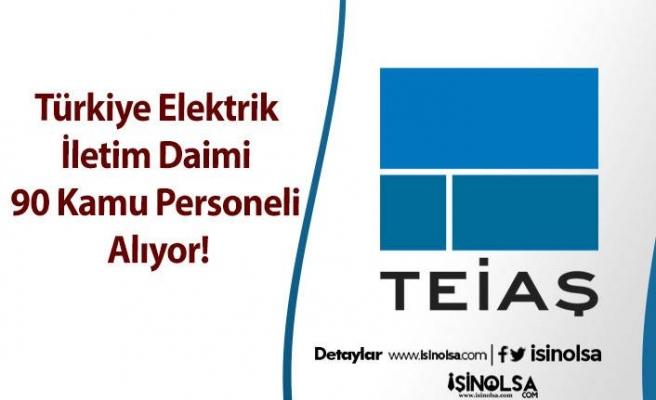 Türkiye Elektrik İletim Daimi 90 Kamu Personeli Alıyor!