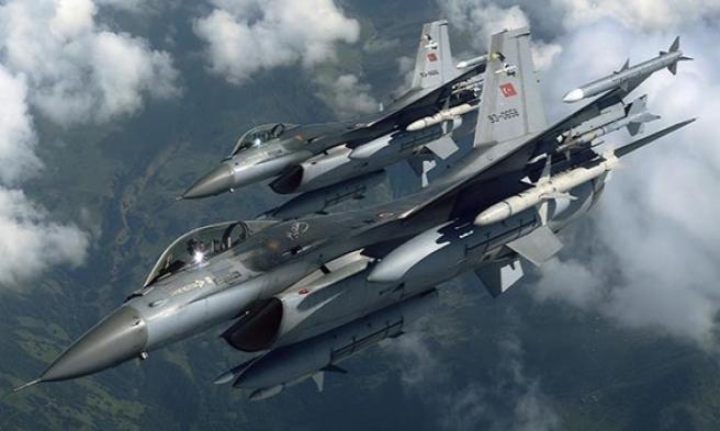 3 Dakika 9 Saniye  F-16'lar Taciz Edildi'