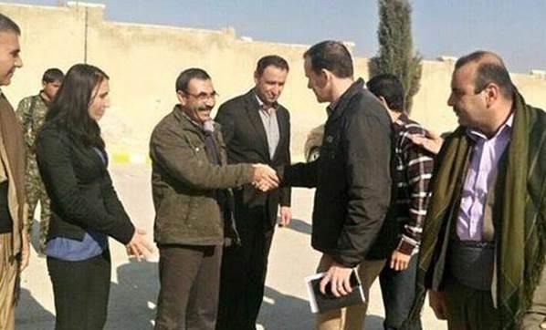 Başkan Barack Obama'nın Özel Temsilcisi Kobani'ye Gitti