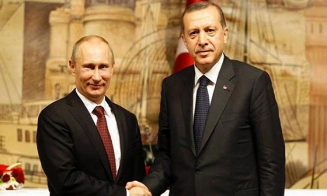 Erdoğan'a Rusya'dan Sürpriz Telefon