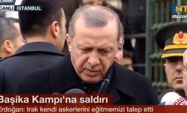 Erdoğan'dan Başika Açıklaması!