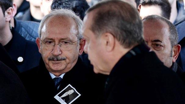 Kılıçdaroğlu ve Erdoğan Cenazede Yan Yana Geldiler!