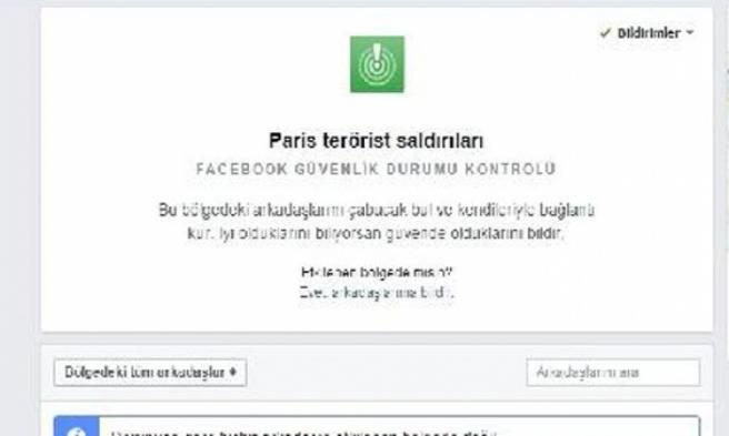 Sosyal Medya'dan Paris İçin Kampanya