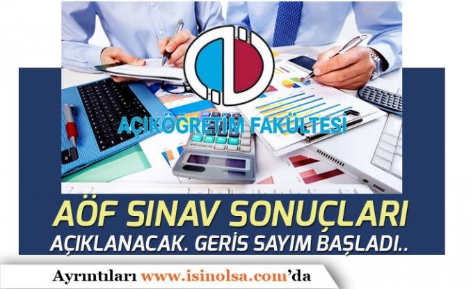 Anadolu Üniversitesi 2019 AÖF Final Sonuçları Açıklanacak! Geri Sayım Başladı!