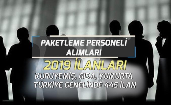 İŞKUR Üzerinden 445 Paketleme İşçisi Alımları! 2019 Paketleme İşi!