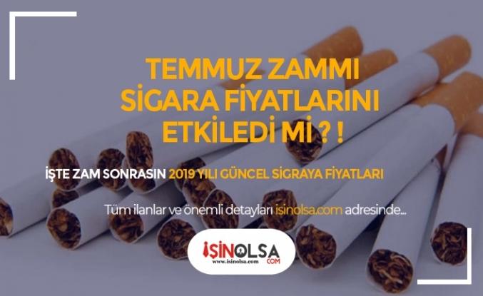 Sigara Zamları Güncel Fiyatlara Yansıdı mı? Temmuz Sigara Fiyatları