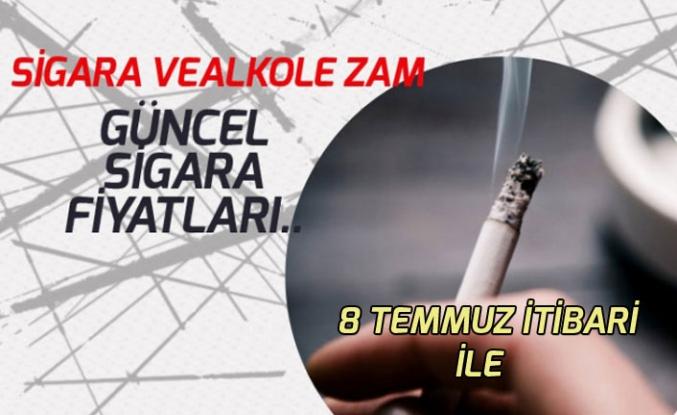 Sigara Zammı! 8 Temmuz Tarihinden Geçerli Sigara Fiyatlar Belli Oldu!