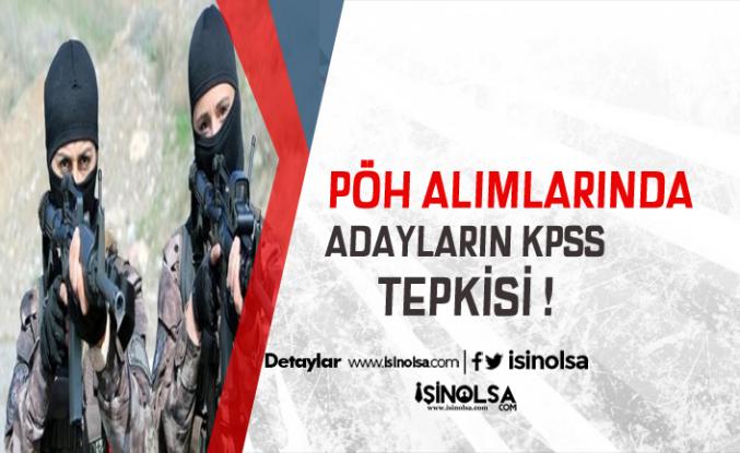 Adaylar 500 PÖH Alımında KPSS Şartının Kaldırılmasını İstiyor