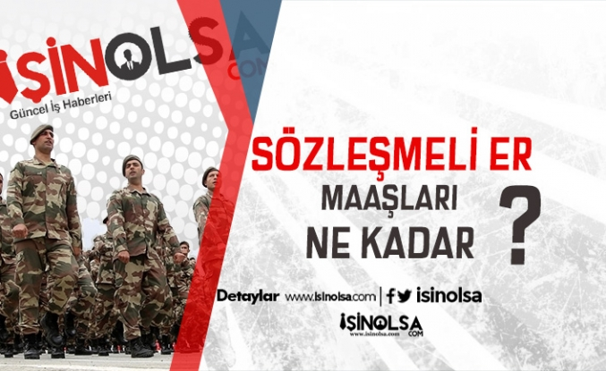 Komutanlıklara Minimum 3 bin 500 TL maaş ile asker alımı yapılıyor! Askerlik şartı yok!