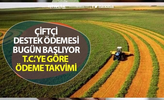 Tarım Bakanlığı Çiftçilere Destek Ödemesi Başladı! TC'ye Göre Ödeme Takvimi!