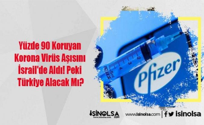 Yüzde 90 Koruyan Korona Virüs Aşısını İsrail'de Aldı! Peki Türkiye Alacak Mı?