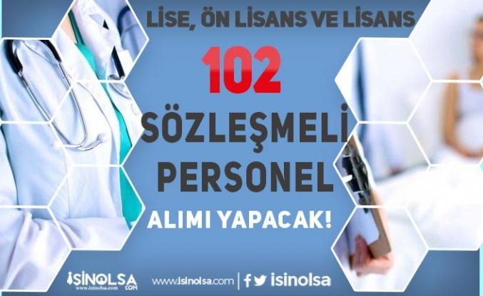 Gaziantep Üniversitesi 102 Sözleşmeli Personel Alıyor! Lise, Ön Lisans ve Lisans
