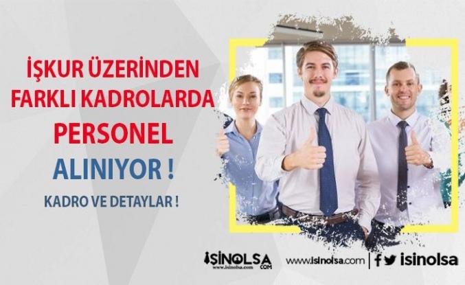 İŞKUR Üzerinden Farklı Sektörlerde Personel Alınıyor !