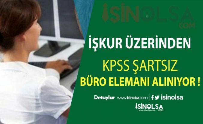 KPSS Şartsız 3100 Kişilik Büro Memuru Alımı Yayınlandı !!! Lise Mezunu olmak Yeterli!!!
