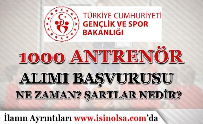 GSB 60 KPSS İle 1000 Antrenör Alımı Başvuruları 20 Eylül Başlayacak