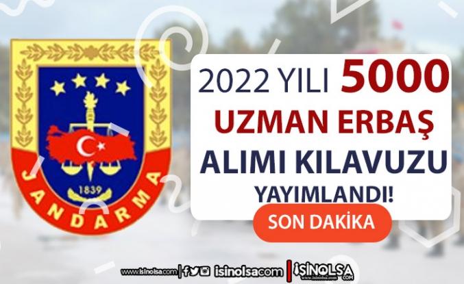 Jandarma 2022 Yılı 5000 Uzman Erbaş Alımı İlanı Yayımladı!