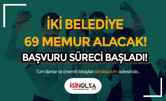 İki Belediye ( Mamak ve Nevşehir ) 7 Farklı Kadro İle 69 Memur Alımı Başladı!