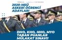 2020 MSÜ Astsubay, Subay Alımı Mülakat Tarihi,...