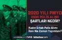 2020 Yılı PMYO İle Kadın Erkek 2500 Polis Alımı...