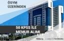 50 KPSS İle Tarım ve Orman Bakanlığı Personel...