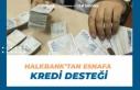 Halkbank'tan Esnafa Kredi Desteği Başvurusu...