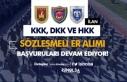 KKK, DKK ve HKK 2020 Yılı Sözleşmeli Er Alımı...