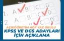 KPSS ve DGS'ye Girecek Açıköğretim AÖF Yaz...