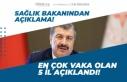 Sağlık Bakanı En Çok Vaka Görülen 5 İli Açıkladı!...