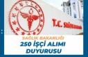 Sağlık Bakanlığı İstanbul kamu Hastaneleri 250...