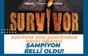 Survivor 2020 Şampiyonu Kim Oldu? Cemal Can mı Barış...