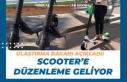 Ulaştırma Bakanı Açıkladı. Scooter'e Yasal...