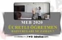 2020-2021 Ücretli Öğretmenlik Başvuruları Ne...