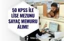 50 KPSS ile Lise Mezunu Sayaç Memuru Alımı Yapılacak!