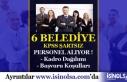 6 Belediyeye KPSS Şartsız Personel Alımı Gerçekleştirilecek!