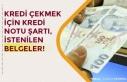 Bankalardan Kredi Çekmek İçin Başvuru Şartları...