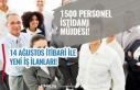 Bölgede 1500 Personel İstihdam Müjdesi Geldi. 14...