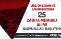 Eyüpsultan Belediyesi 25 Memur Alımı Başvurusu...