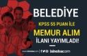 Güzelyurt Belediyesi 55 KPSS İle Memur Alım İlanı...
