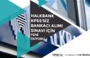 Halkbank KPSS'siz Bankacı Alımı İçin Anadolu...