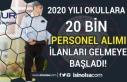 İŞKUR TYP İle MEB Okullara 20 Bin Personel Alımı...