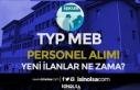 İŞKUR TYP Kapsamında MEB Okullara Personel Alımı...