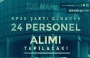 İzmir İZELMAN Farklı Kadrolara KPSS Siz 24 Personel...